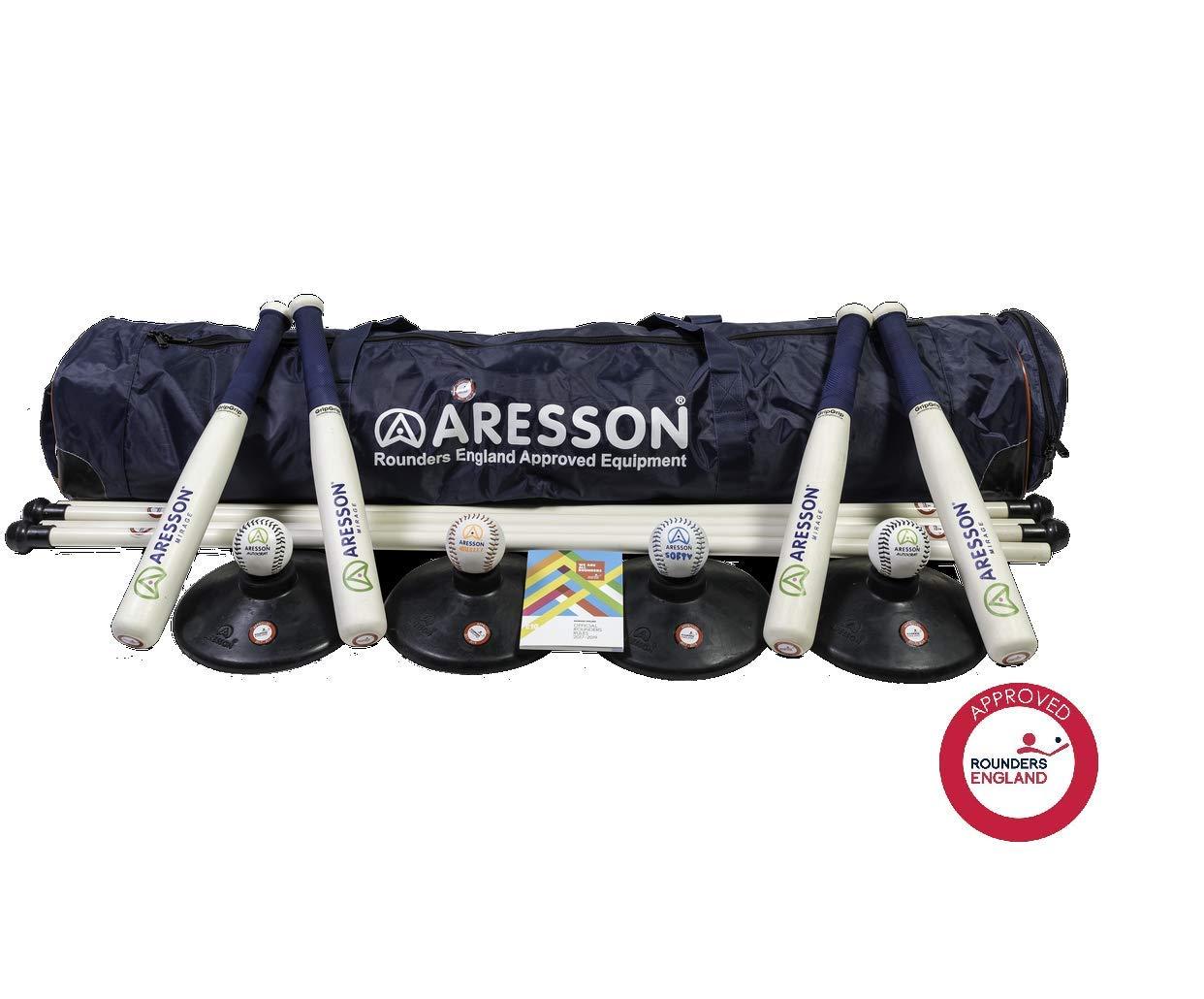 Aresson Classic - Set de rounders (125 cm), azul 260111