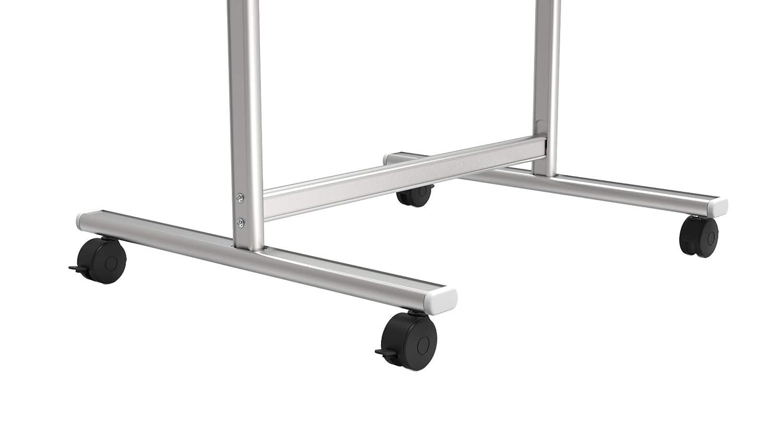 ALLboards Lavagna a Fogli Mobili Bianca Magnetica Superficie Magnetica Cancellabile a Secco Utilizzabile con Blocchi di Fogli Diverse Dimensioni