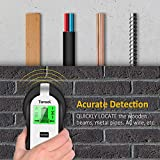 Stud Finder Wall Scanner - 4 in 1 Electronic Stud Sensor Wall Detector Wood Beam Finders Center Finding with Battery and LCD Display for Wood AC Wire Metal Studs Detection