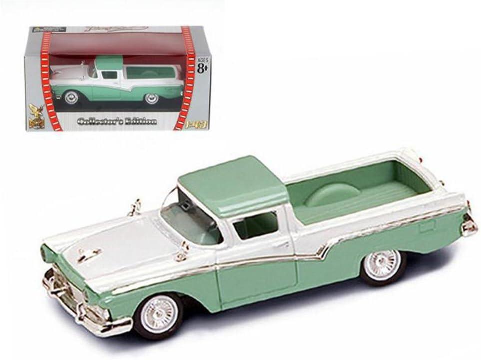 Black 1//43 Scale Diecast Model Car 1957 Chevrolet Nomad Road Signature 94203