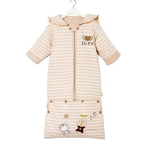TUWEN Invierno y Otoño del Saco de Dormir de Bebé Espesan Invierno Bebé Algodón Puede ser