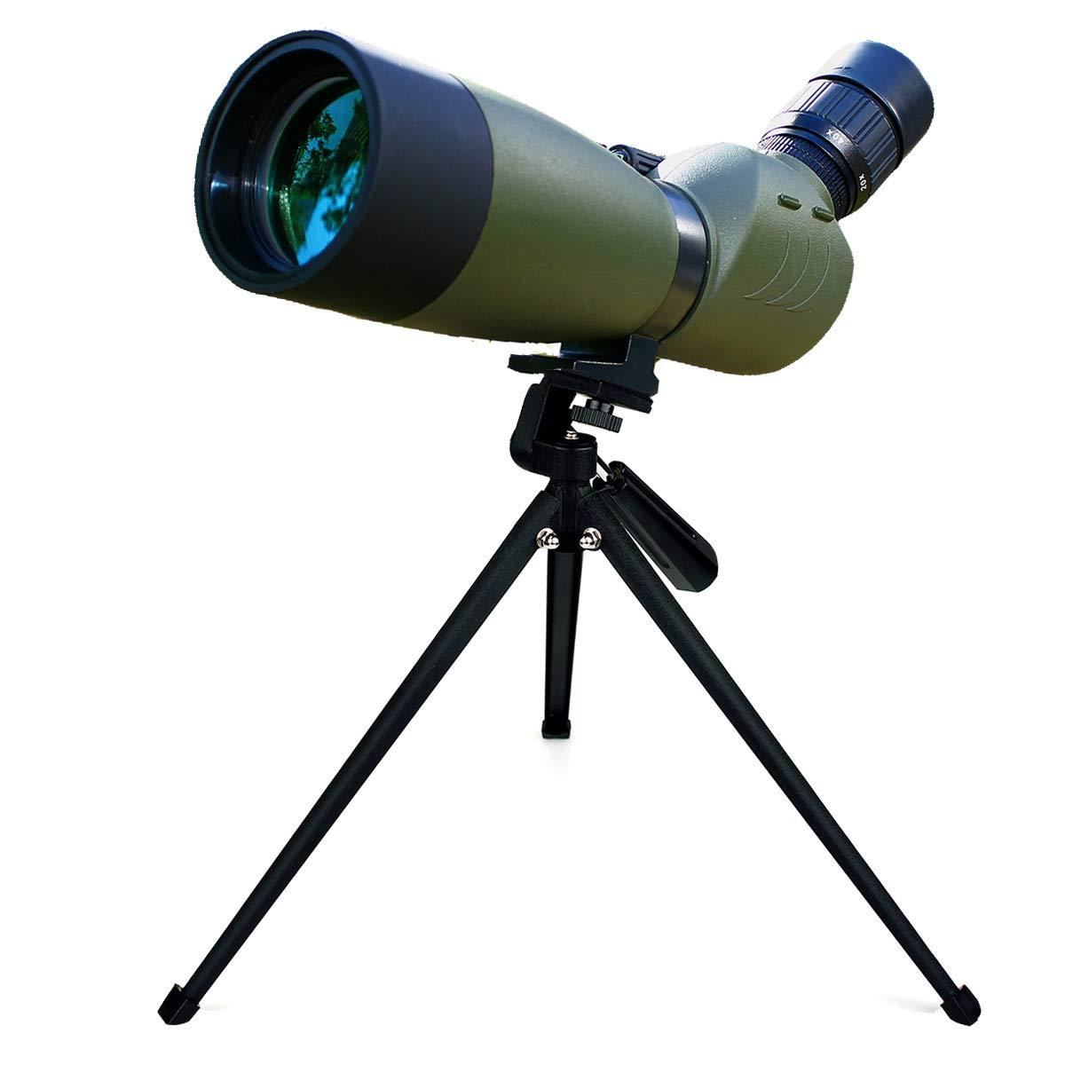 Svbony SV28 Telescopio Terrestre 20-60x80mm IP65 Waterproof Bak-4 Prism Catalejo con Trípode y Adaptador de Smartphone para la Observación de Aves EUF9308D-W2546A