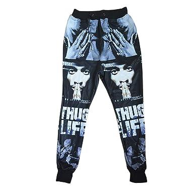 8f9f106aa7708b Amazon.com  Dorathy Unisex Tupac 2Pac Sweatpants Pants Trousers ...