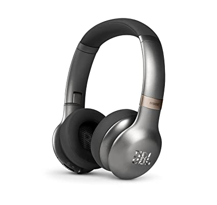 905d4289507 Amazon.com: JBL Everest 310 On-Ear Wireless Bluetooth Headphones (Gun  Metal): Electronics