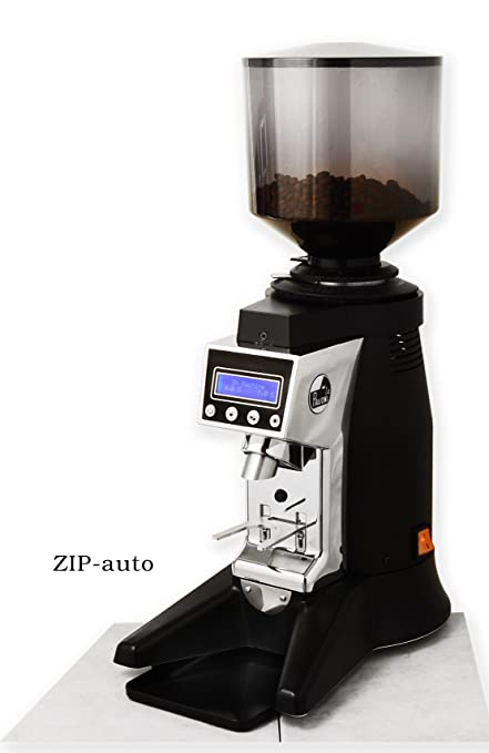 La Pavoni Zip Auto Commercial Coffee Grinder Black Amazon