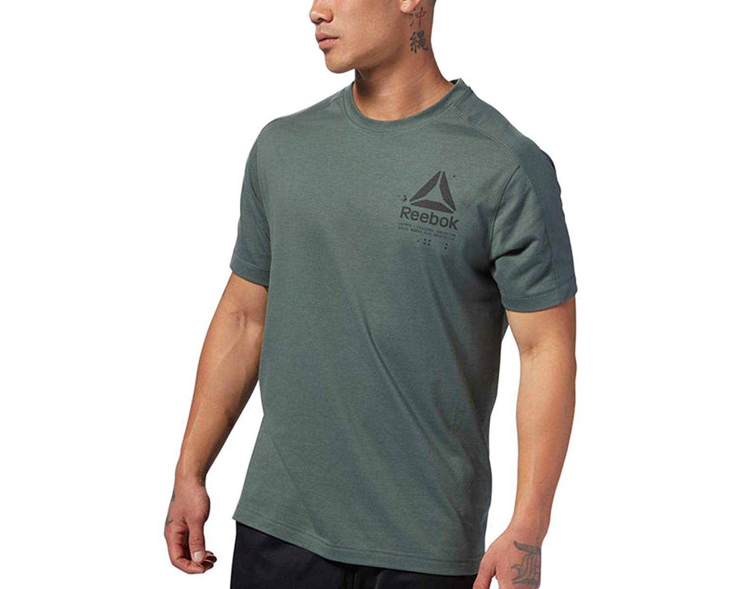 Reebok D93766 Speedwick Graphic T, T-Shirt Uomo