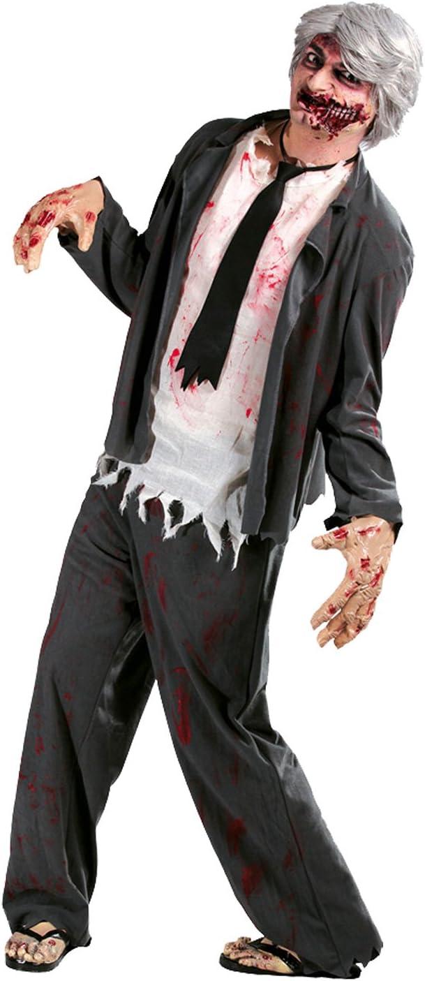 GUIRMA - Disfraz de zombi para hombre (80585): Amazon.es: Juguetes ...