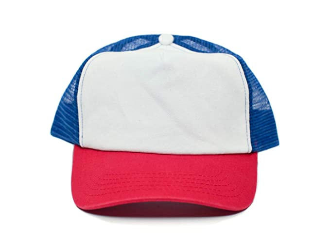 21f9ede510f Image Unavailable. Image not available for. Color: Stranger Things Custom  80's Vintage Cotton Twill Truckers hat ...