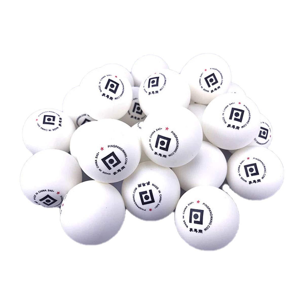 YXHUI Tenis de Mesa One Star, Material Nuevo ABS, Pelota de ...