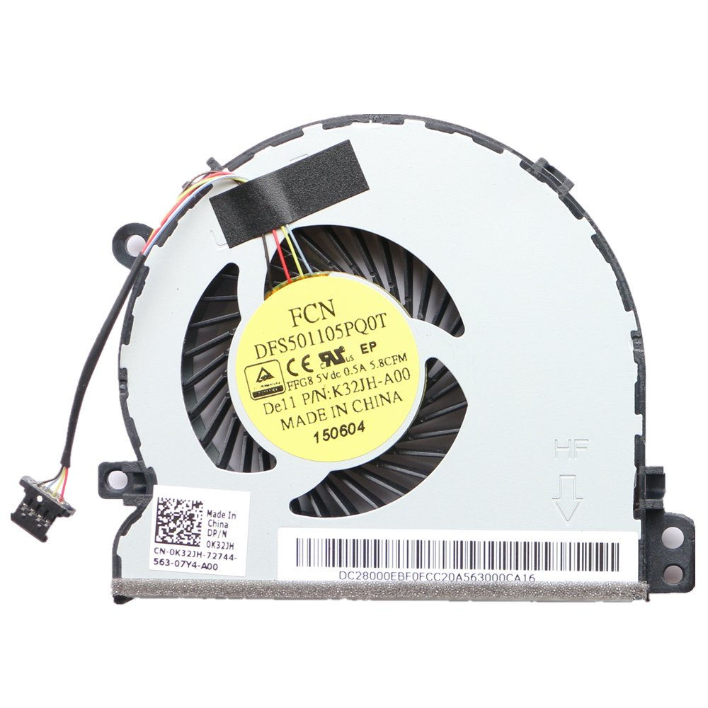 Cooler Para Dell Latitude E3450 E3550 CPU Cooling Fan DFS501