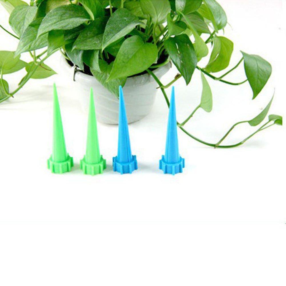 Zantec® - 4 piezas de plástico para riego automático de flores, accesorios de jardinería y decoración: Amazon.es: Hogar