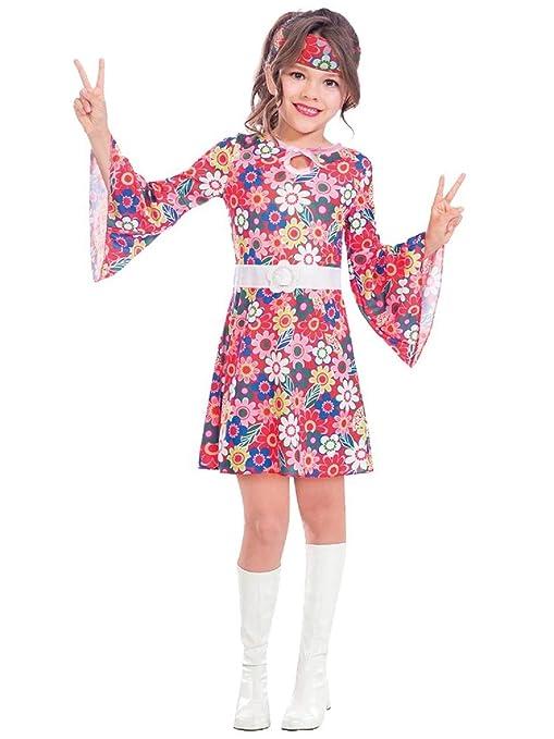 Amazon.com: Disfraz de Hippy Hippie Decenio, años 60 y 60 ...