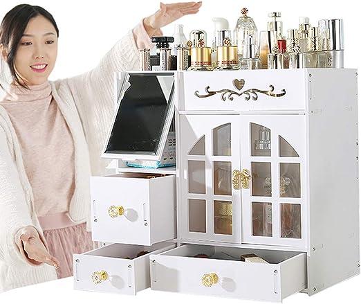 Benfa Organizador cosmético Grande Caja de almacenaje del ...