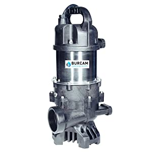 BURCAM 300910 1/2 HP Submersible Waterfall and Fountain Pump