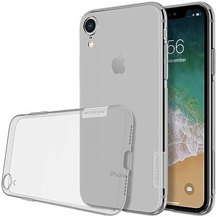 nillkin iphone xr  : GOOD CASE- for iPhone XR NILLKIN Nature TPU Transparent ...