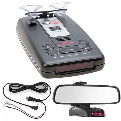Escort PASSPORT S55 Radar/Laser Detector with Accessories Combo Bundle (Red) includes PASSPORT