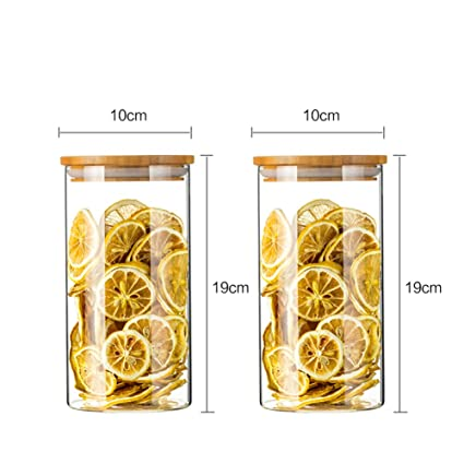 Frascos de vidrio para contenedores de cereales Recipientes de ...