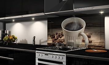 Dekofolie Küchenrückwand-Folie selbstklebend Tasse Kaffee ...