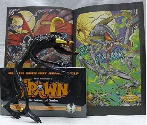 Spawn the Animated Vol. 3 with Black Violator and VHS Heaven Does Not Always Help, Souls in the Balance / End Game (Spawn Mcfarlane 1 Series Toy)
