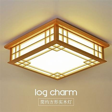 modern led pendant flush mount ceiling fixtures light wooden