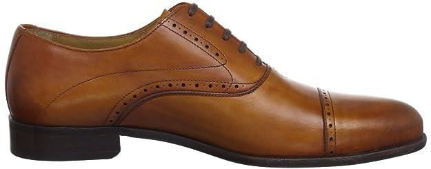 Pertini New Box Coñac - Oxford de cuero hombre, color marrón, talla 43.5: Amazon.es: Zapatos y complementos