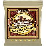 Encordoamento de Violão Aço Ernie Ball Earthwood Extra Light 0.10