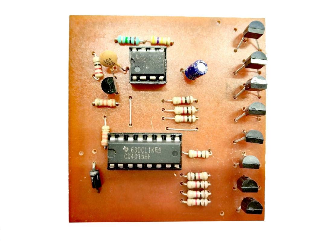 Led Chaser Circuit Running Light 8 Channel For Raspberry Pi Based Solar Street Lightcircuit Design Electronic Projects Cd4015 555 Timer Industrial Scientific