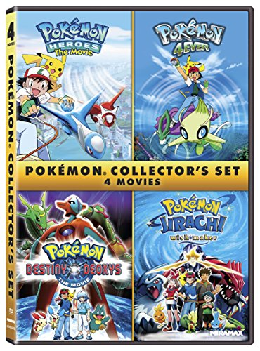 Pokémon Collectors 4-Film Set [DVD]