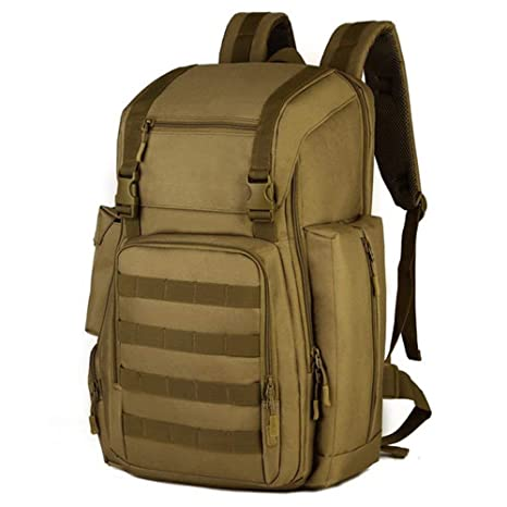 097782abc183 Amazon.com: LYGA Laptop Backpack Men's Military Molle Canvas ...