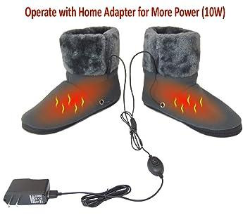 ObboMed MF-2305M Far Infrared Carbon Fiber Heated Foot Warmer Boots  Slippers 8ab420db9b68