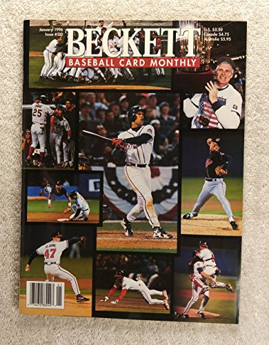 Atlanta Braves World Series (The Atlanta Braves - 1995 World Series Champions! - Beckett Baseball Card Monthly - #130 - January 1996 - Back Cover: Sammy Sosa (Chicago Cubs))