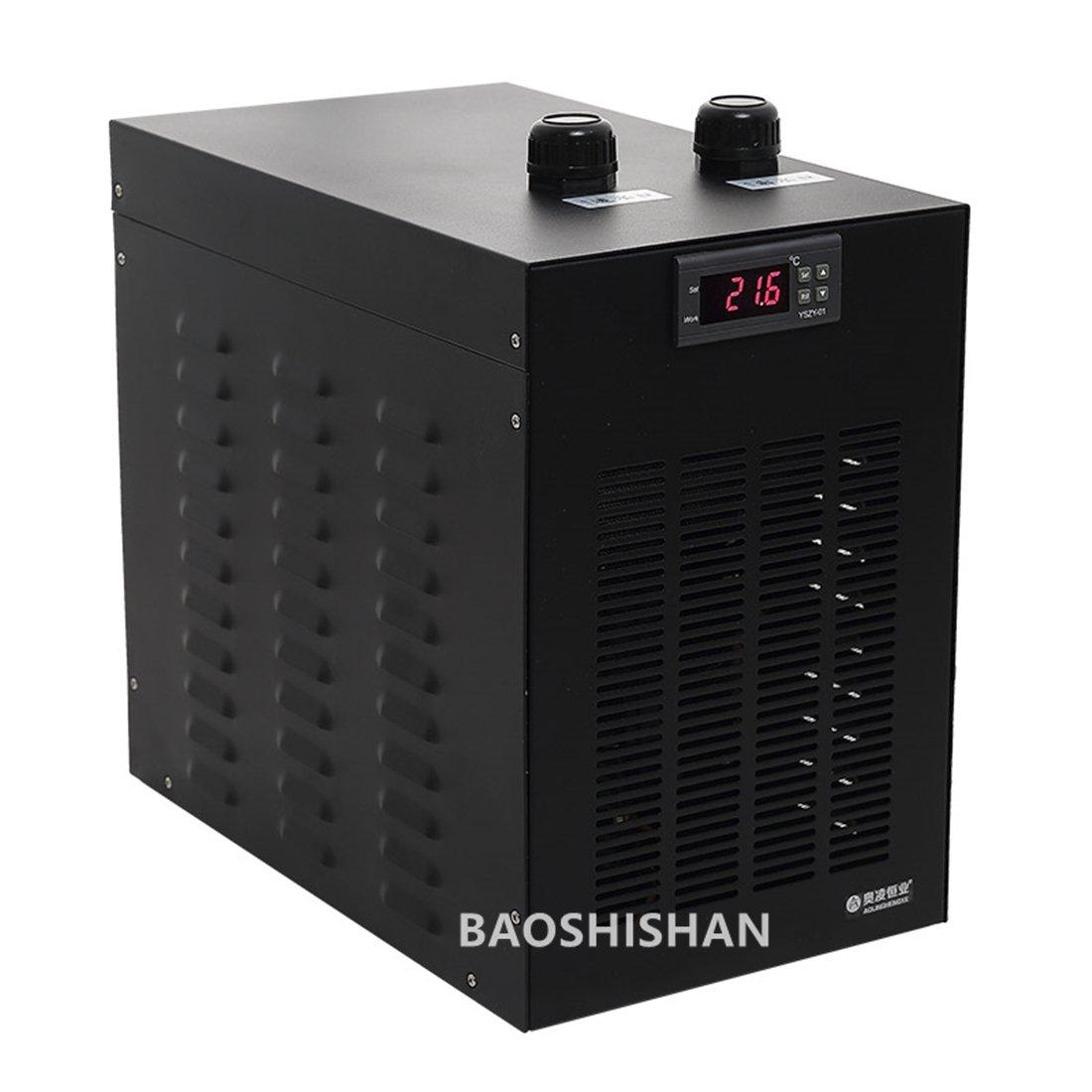 Aquarium Water Cooler Fish Tank Chiller Special Quiet Design Refrigeration Compressor for Waterweeds/Jellyfish/Coral/Crystal Shrimp B0716XSSC4