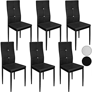 amazon metall esszimmer st hle m belideen. Black Bedroom Furniture Sets. Home Design Ideas