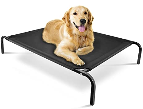 Amazon.com : OxGord Elevated Dog Bed Lounger Sleeper Pet Cat Cot ...