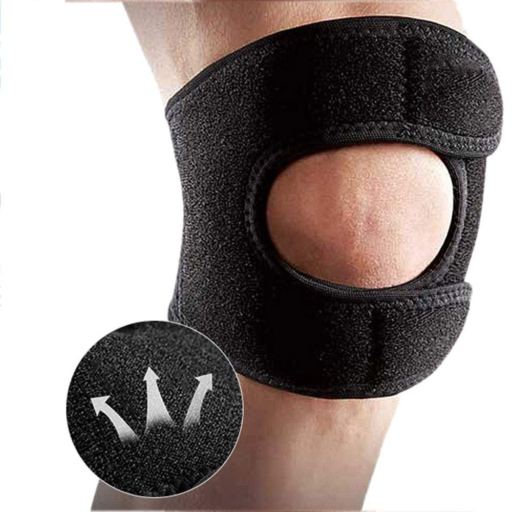 ZCF Basketball Badminton Running Sports Soccer Knee Injuries Men and Women Warm with Meniscus Knee Protectors (Color : J)
