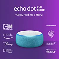 Amazon Echo Dot Kids Edition Smart Speaker With Alexa (Blue)