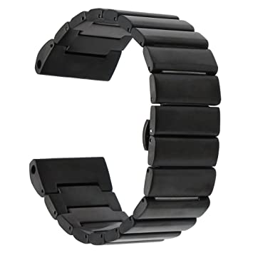 TRUMiRR 26mm Banda de Reloj de Acero Inoxidable para Garmin Fenix 3 / Fenix 3 HR