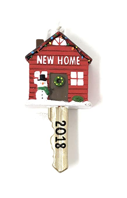 64dd6eaebd491 Amazon.com  Hallmark New Home 2018 Ornament  Home   Kitchen