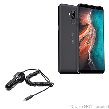 Amazon.com: BoxWave Ulefone P6000 Plus Cargador de Coche ...