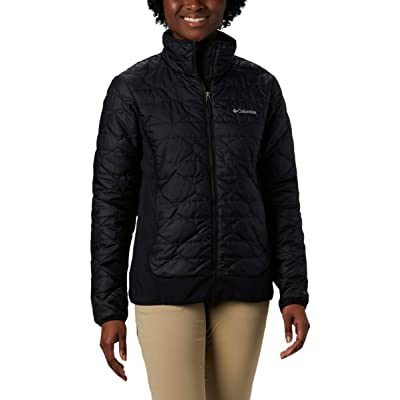 Columbia Women's Seneca Basin Hybrid Winter Jacket, Water repellent at Women's Clothing store