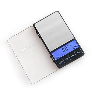 uniweigh 650 g0.1g báscula digital, alta precisión peso bolsillo escala, joyas y