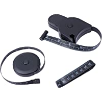 Scicalife Conjunto de 3 peças de fita métrica corporal 150 cm design ergonômico, fita métrica retrátil, fita métrica…