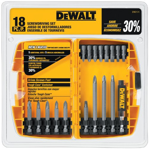 DEWALT DW2174 18-piece DEWALT Screwdriving -