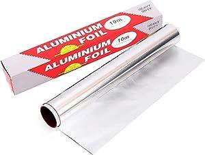 Aluminum Foil Roll Heavy Duty Aluminum Foil Wrap, Grilling Heavy Duty 33 Square Feet Aluminum Foil, Heavy Duty Aluminum Foil for Food Service BBQ & Catering -12 Inch X 33 Ft (3 Boxes)