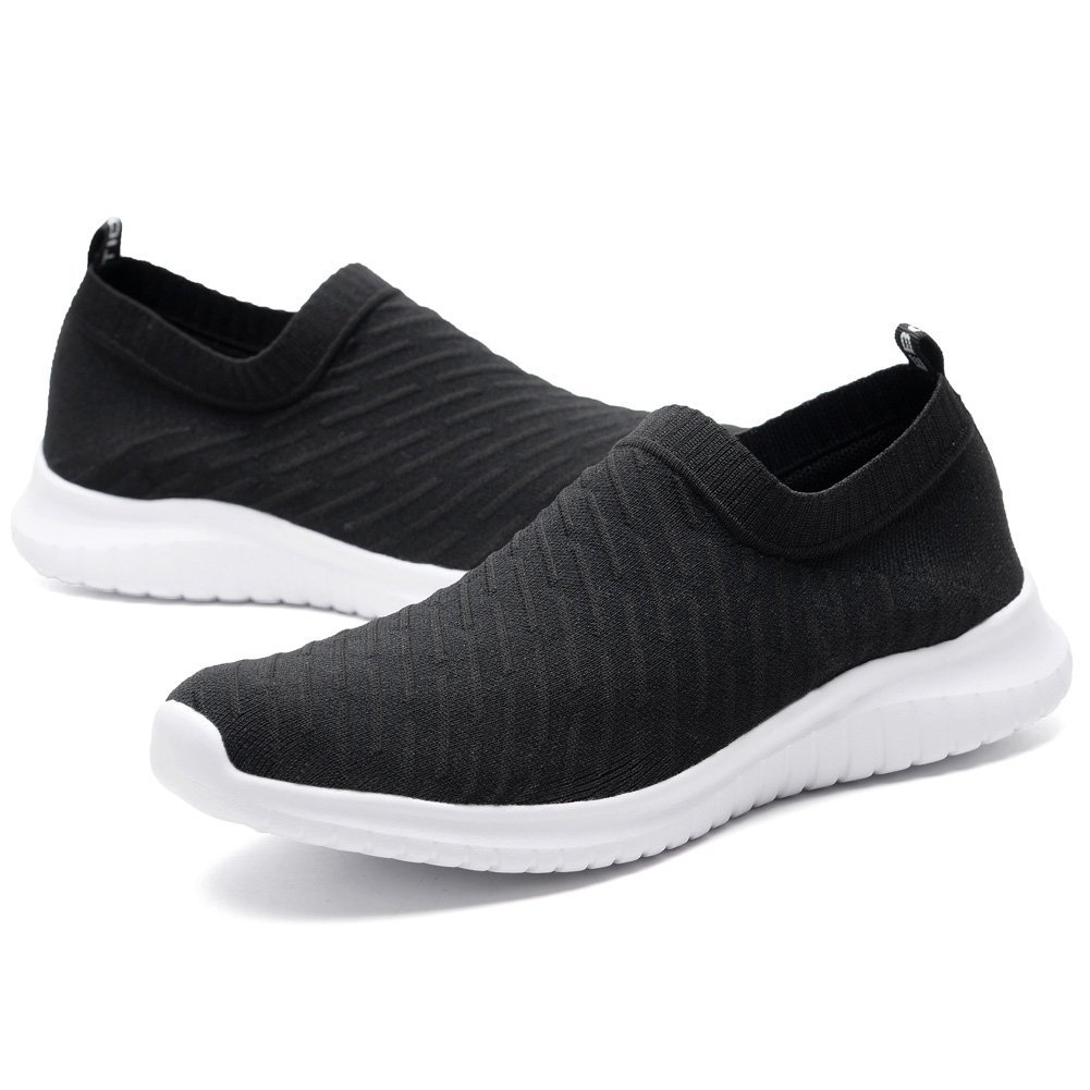 konhill Women s Lightweight Walking Shoes – Knit Breathable Tennis Athletic Casual Sneakers Shoes