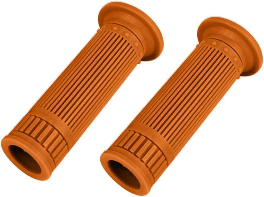 Tenlacum Poign/ée de Guidon de Moto en Caoutchouc Souple 25 mm 28 mm