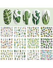 Kapmore Nagelstickers, 24 stuks, nail art-nail stickers, nail stickerset, kunst sticker, manicure decoratie
