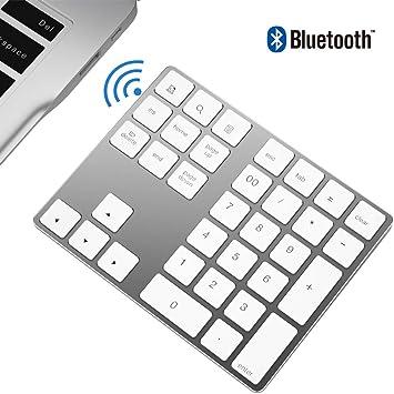 Zienstar-Teclado Numérico Bluetooth,Externo Inalámbrico de ...