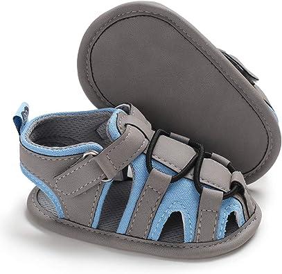 0-18Months LAFEGEN Infant Baby Boys Girls Sandals Non Slip Rubber Sole Outdoor Toddler First Walker Crib Summer Shoes