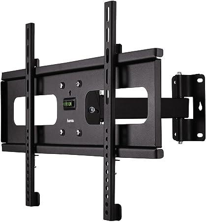 Hama Tv Wandhalterung Fullmotion Neigbar Schwenkbar Vollbeweglich Für 81 127 Cm Diagonale 32 Bis 50 Zoll Für Max 45 Kg Vesa Bis 600x400 Schwarz Heimkino Tv Video